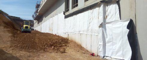 drainage teradrain® en soubassement