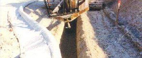 DRAINAGE LATERAL DE CHAUSSEE DDE REIMS