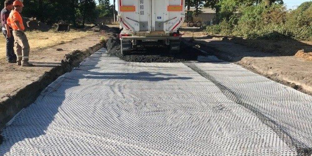 Stabilisation de la voie d'accès à l'hippodrome du Mans