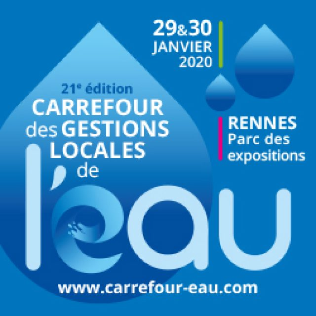 Salon Carrefour de l'eau 2020