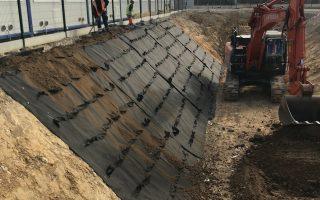 Stabilisation talus bassin